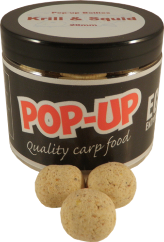 Pop-up boilies Krill & Squid