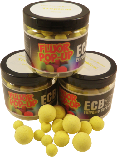 Fluor pop-up ''Tropical'' Geel